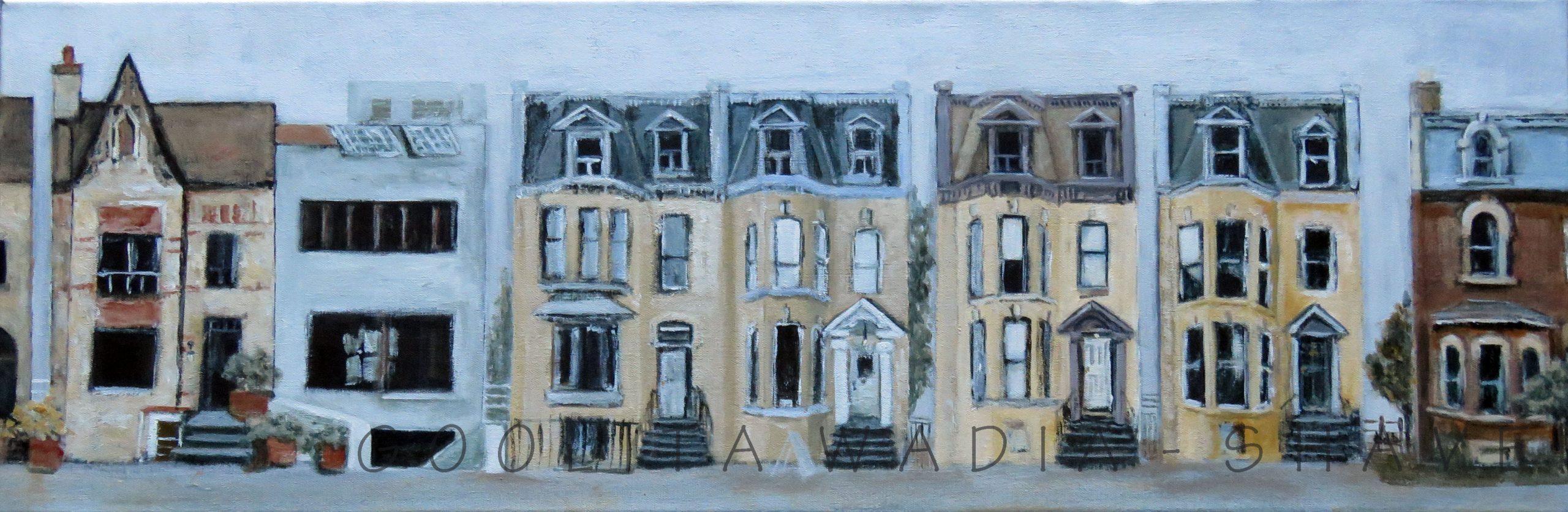 """Dundas - 12"""" x 36"""" Acrylic on Canvas."""