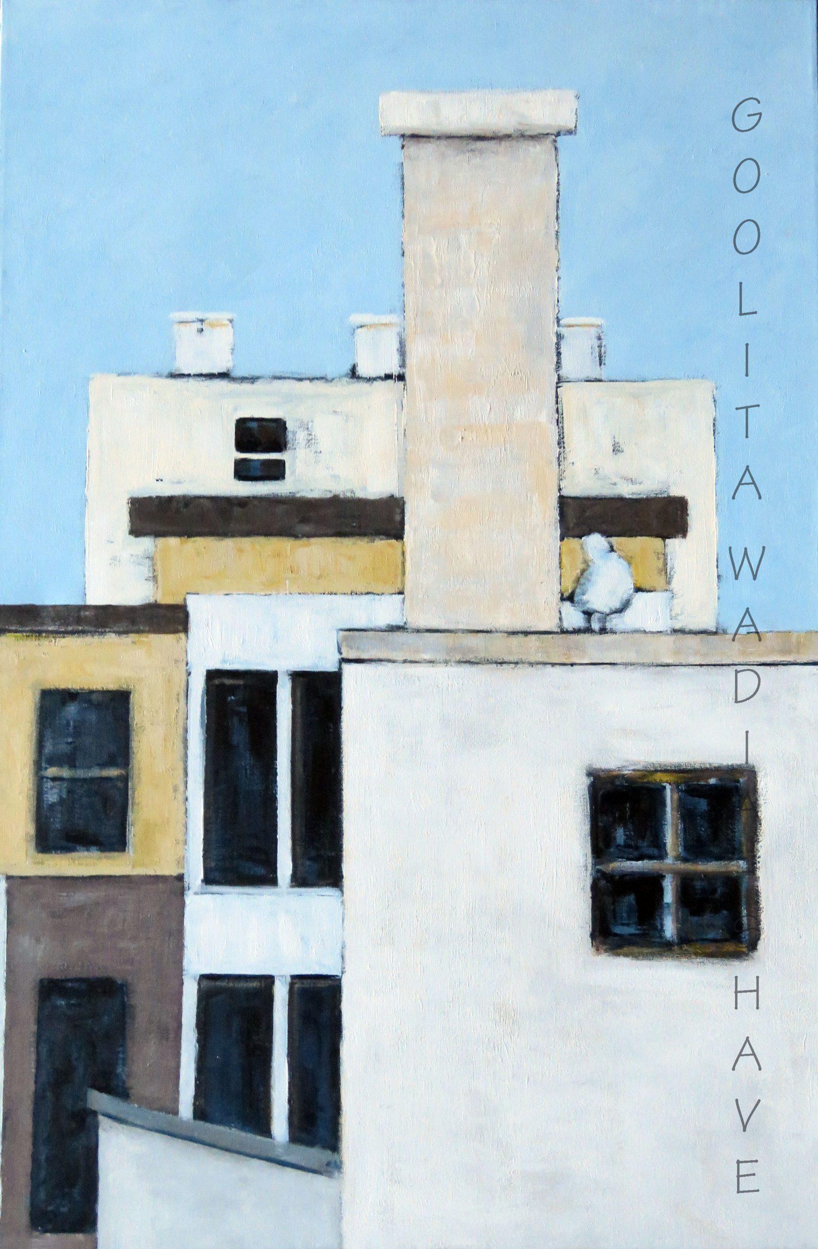 "Jonathan - 24"" x 36"" Acrylic on Canvas. $875"
